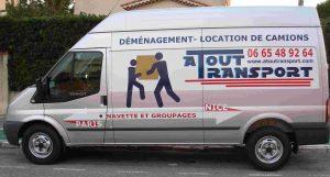 camion déménagement groupage